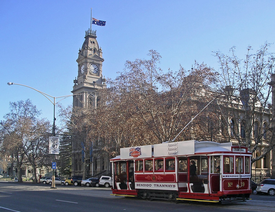 Bendigo Talking Tram tours