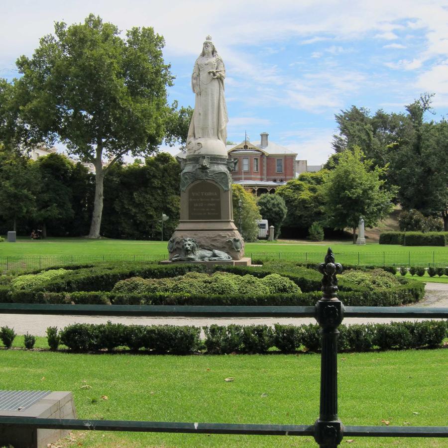 Statue of Queen Victoria, Rosalind Park Bendigo